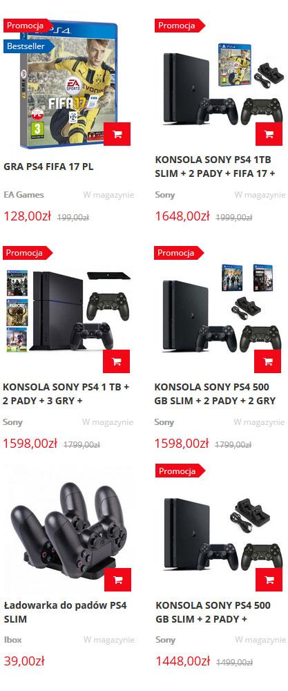 Tanie konsole sony sklep techsat24.pl