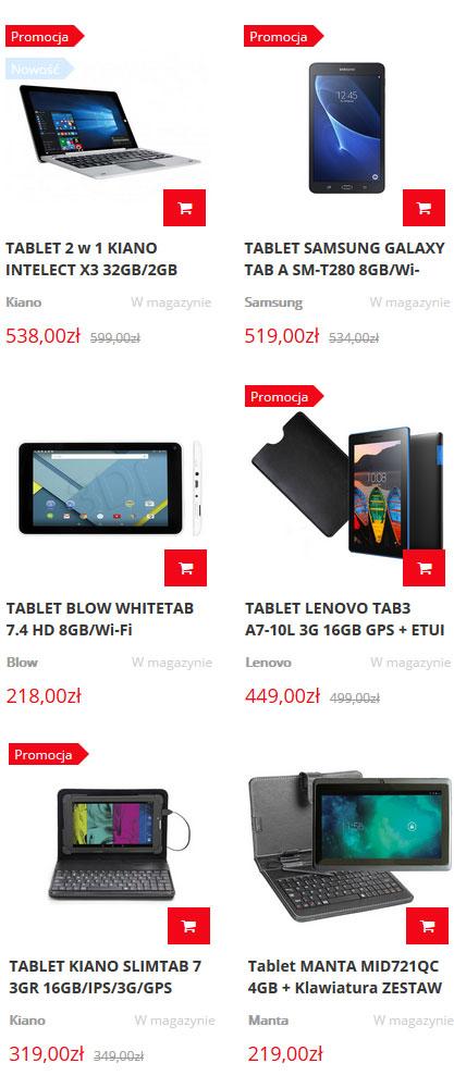 Tablety - sklep internetowy techsat24.pl
