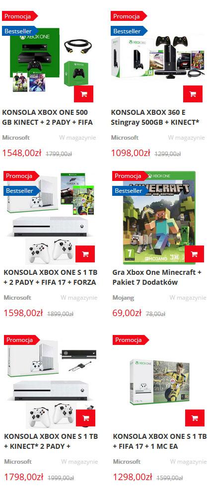 Tanie konsole xbox sklep techsat24.pl